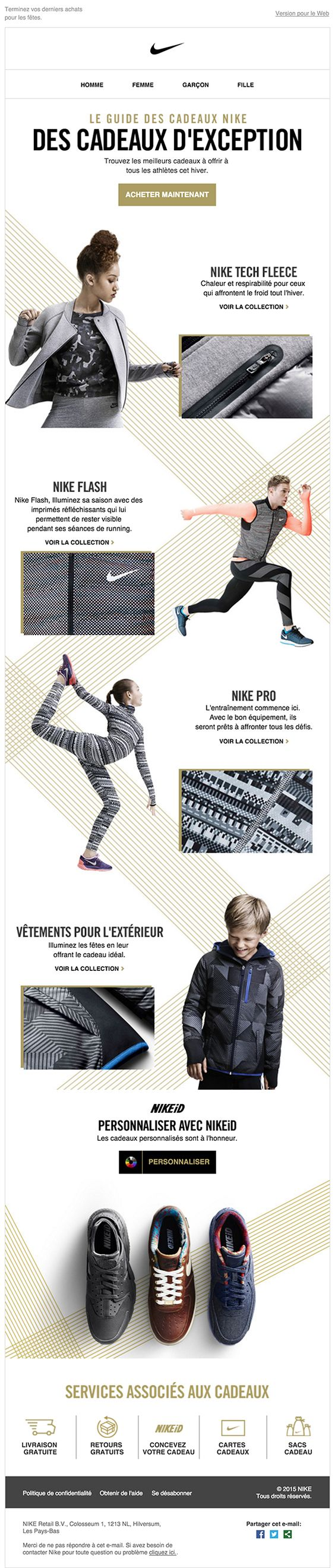 25 Examples of Sportswear Brands\' Marketing Emails - MailBakery