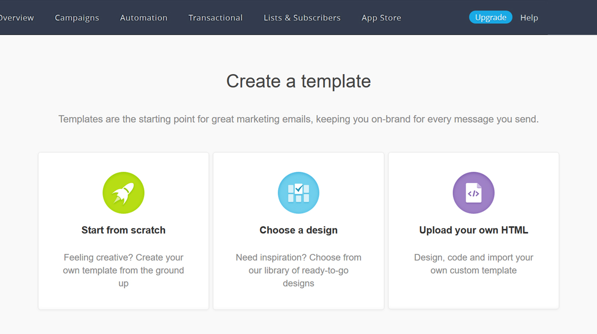 Best HTML Email Template Editors In Email Marketing Platforms - Campaign monitor html templates