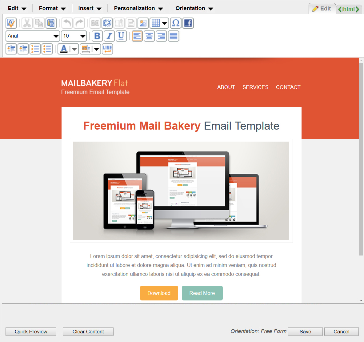 9 Best HTML Email Template Editors in Email Marketing Platforms ...